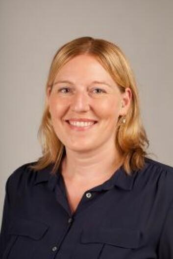 Line Barkved forsker hos NIVA i sekjon for vann og samfunn. Foto G M Hellevik