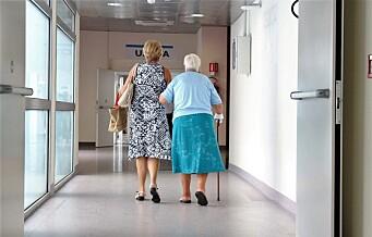 Sjokkerende funn ved sykehjem i Oslo: Beboere og pårørende bes om ikke å hisse hverandre opp og dele elendigheten