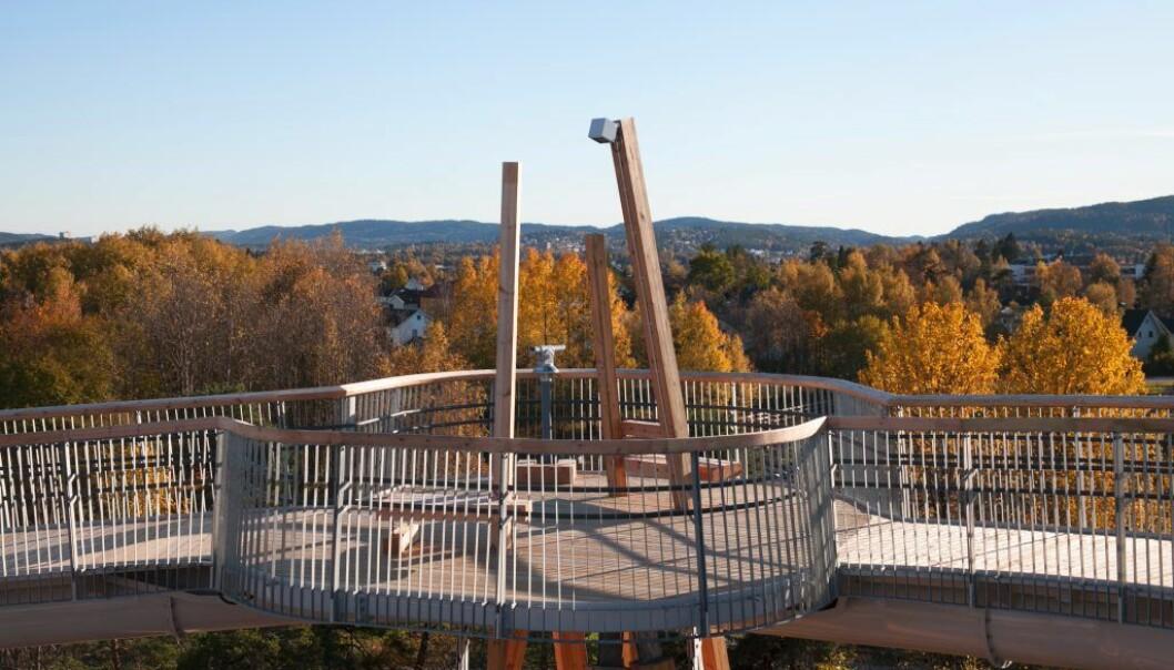 Stovnertårnet og utsikten derfra.