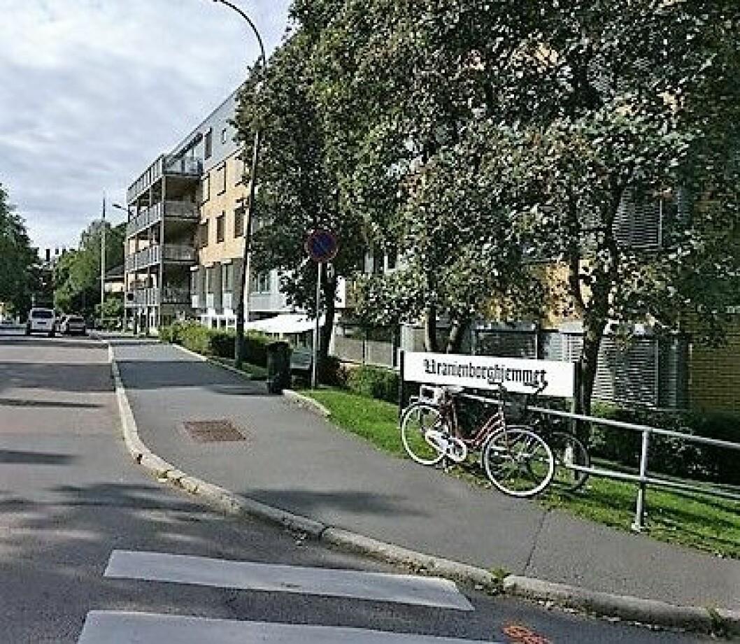 Uranienborghjemmet ligger på Uranienborg og drives av Aleris omsorg. Foto: Wikimedia Commons