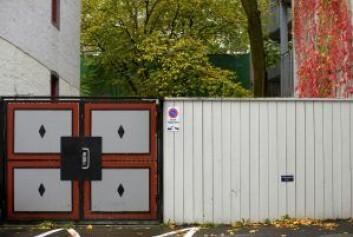 Porten inn mot bakgården i Bjerregaardsgate. Foto: Merethe Ruud