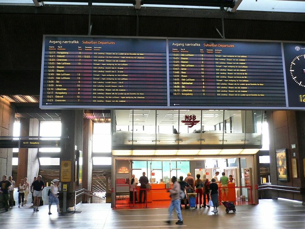 Oslo S innvendig. Foto: Wikipedia