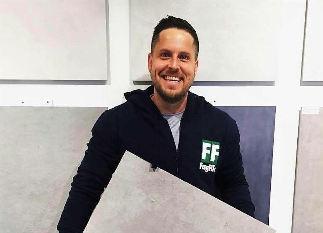 Murermester Steinar Engebretsen. Foto: Privat