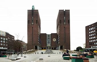 Mekling i Oslo kommune i gang
