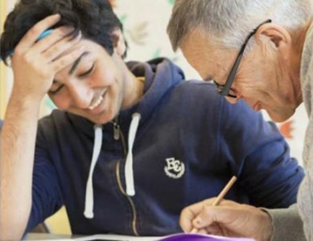 Stadig flere elever i Osloskolen får toppkarakter i matematikk. Foto: Oslo Kommune