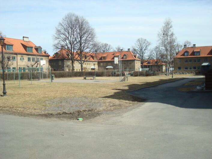 Lille Tøyen Hageby. Foto: Ole Anders Flatmo/Wikipedia