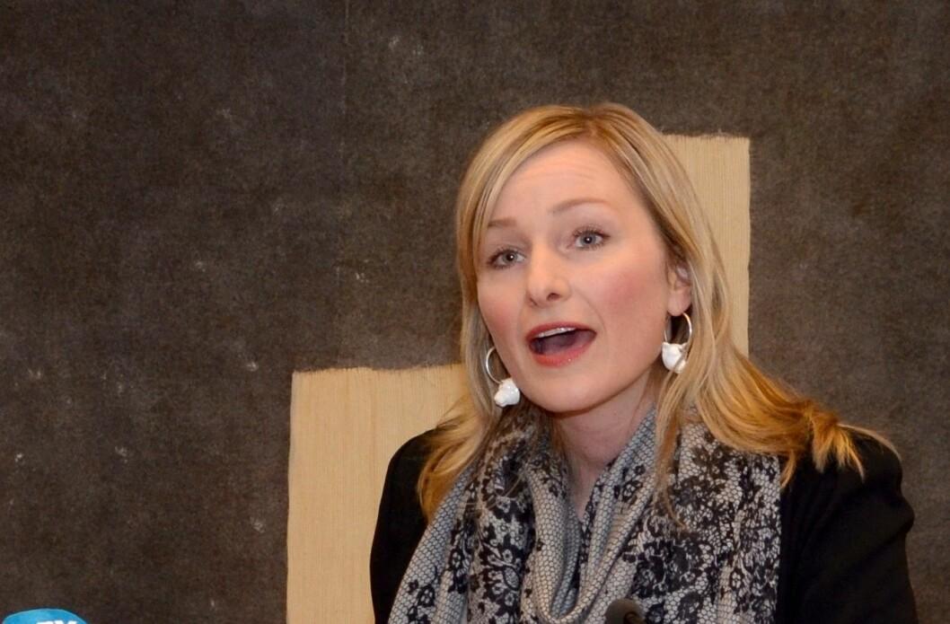 – Vi er enige med Aleris om å avvikle avtalen om hjemmehjelpsdrift på bakgrunn av flere alvorlige forhold, sier byråd Inga Marte Thorkildsen. Foto: Barne- og likestillingsdepartementet / Flickr