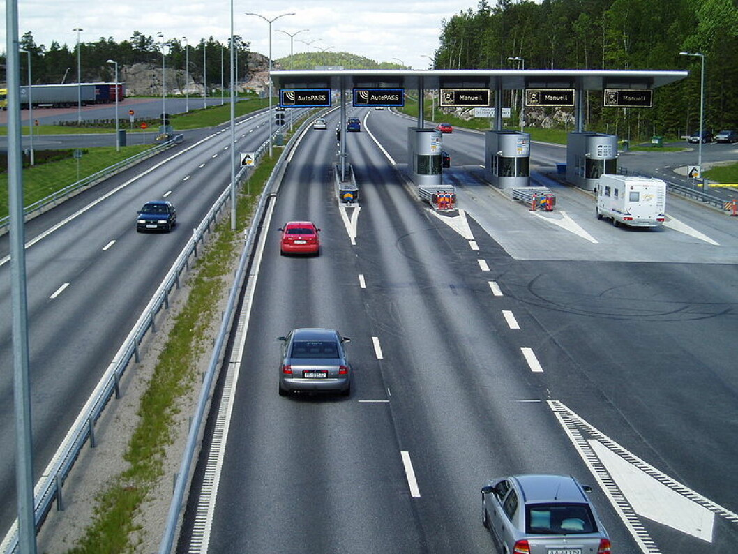 Påkjøringsrampe E6 ved Abildsø. Foto: Fjellinjen