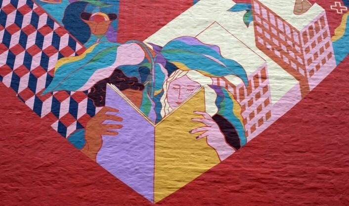 Heart in the city er en hyllest til de frivillige i Oslo. Foto: Merethe Ruud