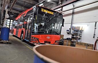 Her er Oslos første elbuss på plass