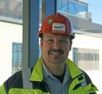 Distriktssjef i NCC Building Norge, Lars Eivind Karlsen. Foto: NCC