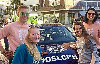 Deltakerne i verdens elskeligste bilrace, mellom Oslo og København, er i mål