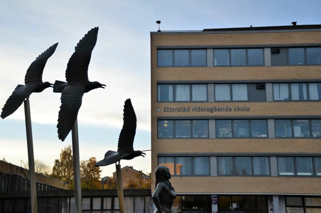 Lærere og rektorer er frustrerte over at den viktige oppfølgingen av unge kriminelle elever svikter ved Etterstad videregående skole. Foto: Morten Lauveng Jørgensen