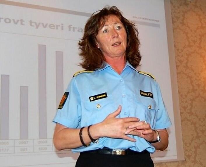 Janne Birgitta Stømne. Foto: Oslo handelsstands forening