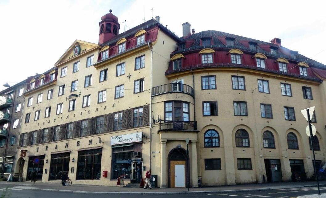 Det gamle pensjonatet på Ila ble til integreringsmottak. Nå lukkes det. Foto: Wikimedia Commons