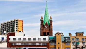 Grønland kirke, også kalt østkantens katerdral. Foto: Grønland kirke
