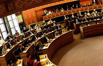 De rødgrønne vedtar Oslo-budsjettet med rekordøkning av byens gjeld og fortsatt eiendomsskatt