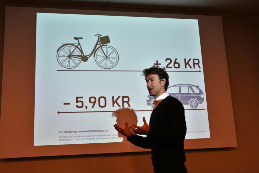 Rune Gjøs er direktør for Sykkelprosjektet i Oslo kommune. Illustrasjonsfoto: Undervisningsbygg