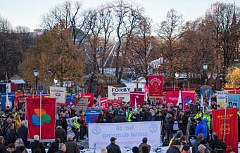 10.000 ut i streik mot bemanningsbyråer i byggebransjen rundt Oslofjorden