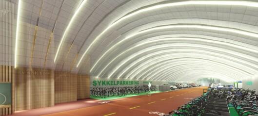 Frogner kan få verdens største parkeringsanlegg for elektriske biler, sykler, scootere og bildeling