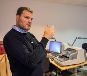 Seksjonsjef Ove Hildrum. Foto: Kyrre Snogstad Seim