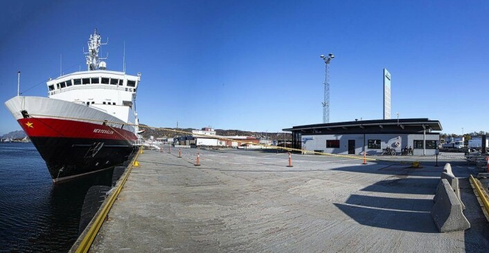 Ved Bodø havn var Ingvar Mathisen direktør inntil i våres. Foto: Bodø kommune