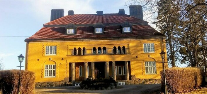 Her, på Fredriksborg, møttes Marcus Thrane og 104 arbeiderdelegater fra hele landet i 1850. Foto: Mondene selskapslokaler