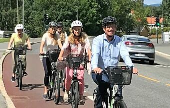 – I bydel Frogner driver Høyre og Venstre et billig politisk spill som ødelegger for syklistene