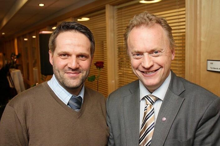 Tor-Henrik Andersen og Raymond Johansen fløy begge til klimatoppmøtet i Bonn uten å kjøpe klimakvoter. Foto: Arbeiderpartiet / Flickr