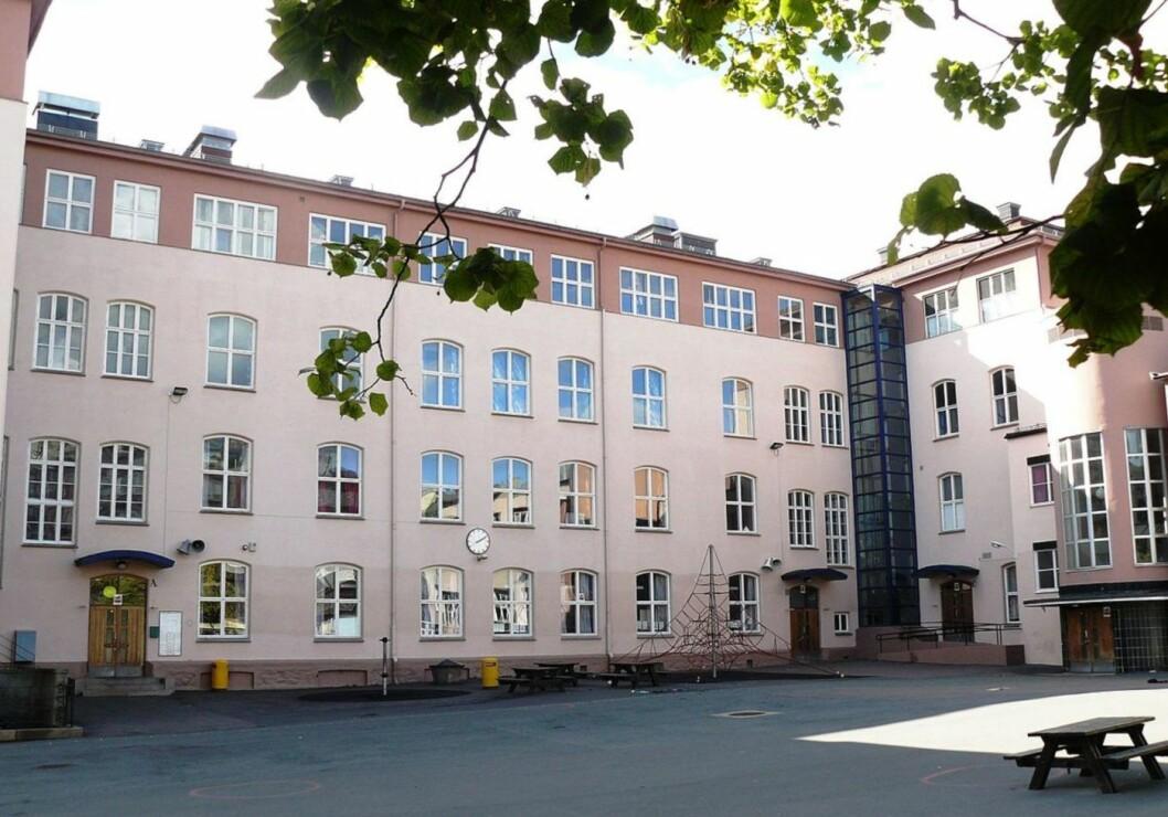 Ruseløkka skole. Foto: Wikipedia