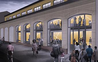 Planene for Kulturstedet, en ny kjempescene på Tøyen, ble lansert denne uken