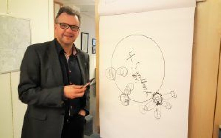 Bydelsdirektør Tore Olsen Pran i bydel Gamle Oslo. Foto: Tarjei Kidd Olsen