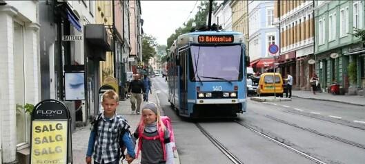 Snart kan barn opp til skolealder reise gratis med kollektivtrafikken i Oslo