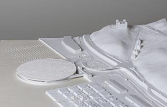 Forslag om gigantisk oppdrettsanlegg for laks på Grønlikaia vant designpris