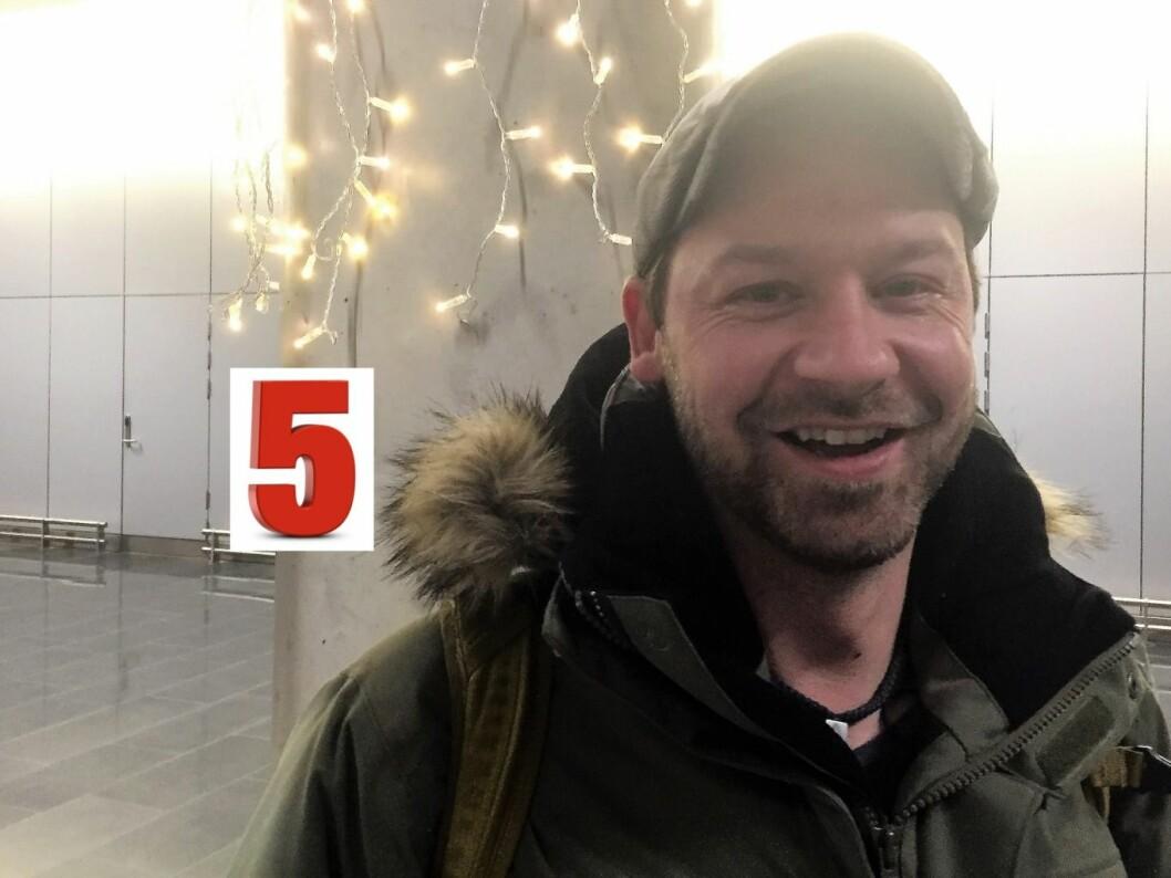 Petter Nyquist er bokaktuell med en bok om livet på gata i Oslo. Foto: Vegard Velle