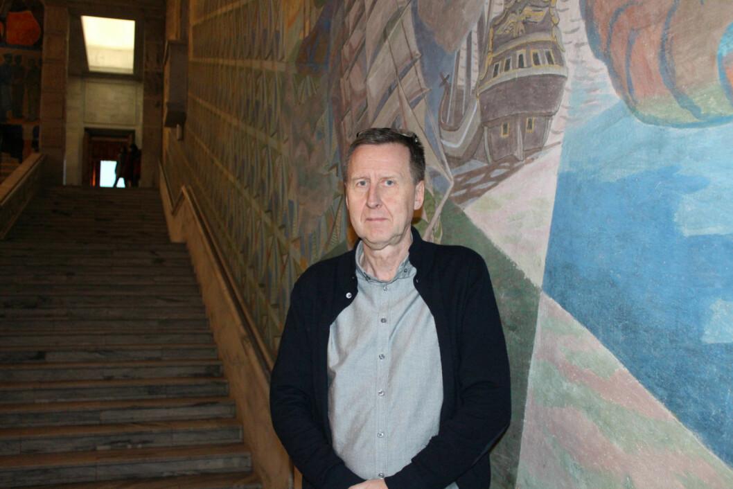 Per-Steinar Aasebø er seksjonssjef i Byrådsavdeling for Finans. Foto: Oslo kommune