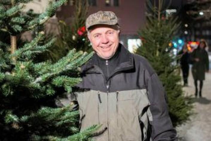 Når Ole-Petter Sæby dukker opp, er det klart for jul på Frogner. Foto: Morten Lauveng Jørgensen