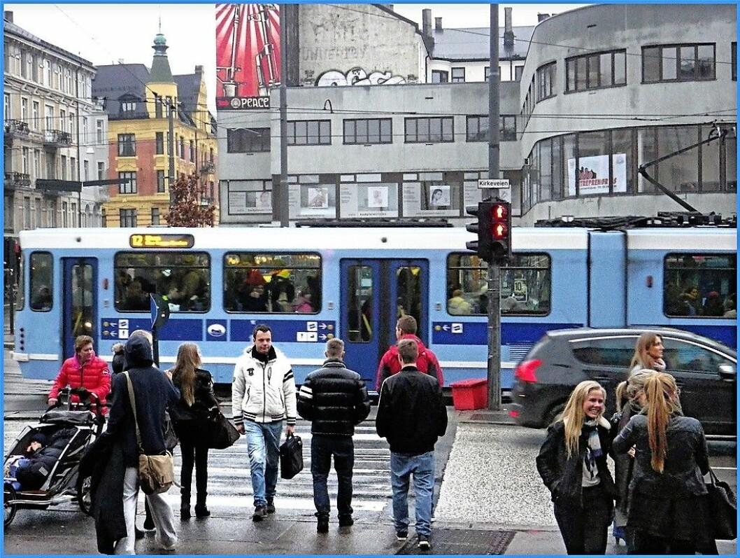 Kollektivtrafikken vil stå igjen som en taper om Høyre fikk bestemme, mener Pål Thygesen MdG). Foto: Carlos Bryant / Flickr