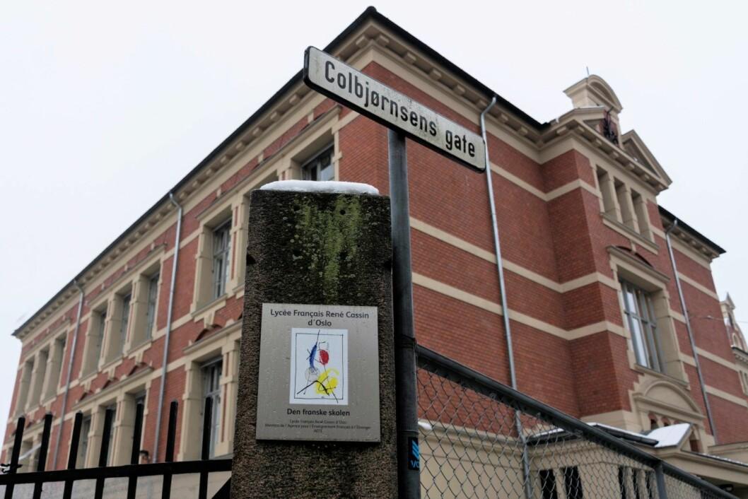 Den franske skolen på Frogner i Oslo møter ikke kravene til inneklima og renhold, viser en ny tilsynsrapport. Foto: Morten Lauveng Jørgensen