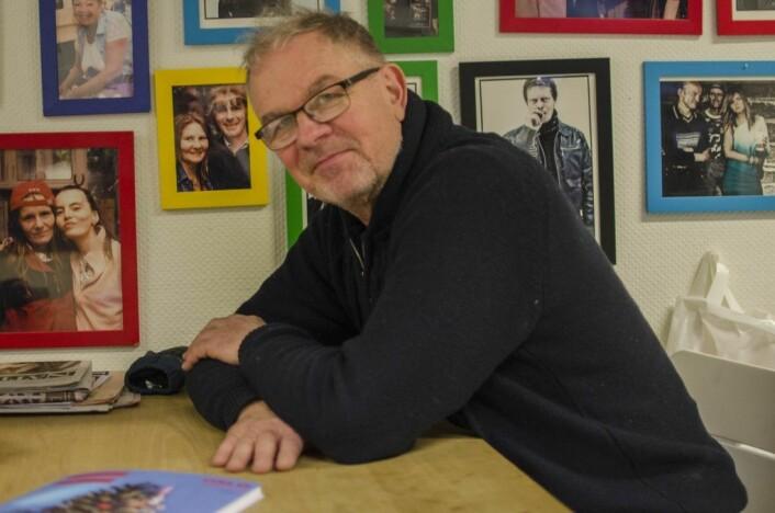 Erlik Oslo-magasinets redaktør, Lars Aarønæs. Foto: Morten Lauveng Jørgensen