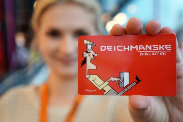 Dette lånekortet kan også brukes som inngangskort. Foto.: Kulturetaten