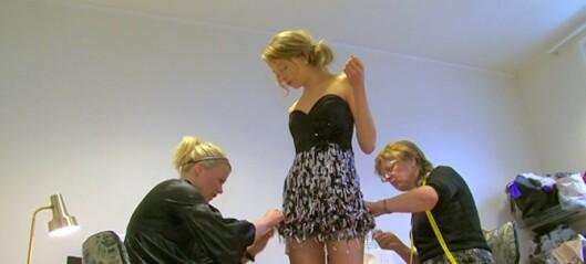Med hjerte for Oslo: Tina Steffenakk Hermansen på Frogner designer glamorøse klær for kresne jenter