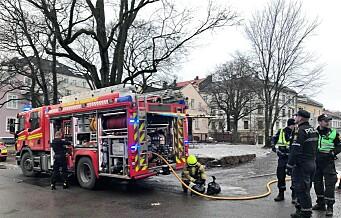 Brann i trafostasjon på St. Hanshaugen gjør at folk i området mister strømmen i hele dag