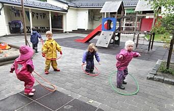 Private barnehager mener Oslo kommune snyter dem. Nå krever de 100 millioner mer i støtte