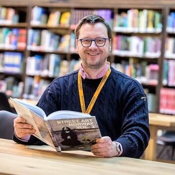 Knut Skansen er hovedstadens nye biblioteksjef. Foto: Christian Clausen, Deichman