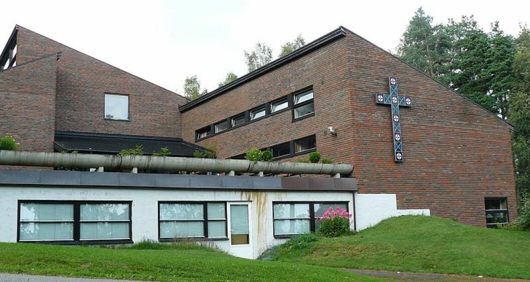 Rødtvet kirke er første kirke ut i prosjektet. Foto: Chell Hill / Wikimedia Commons