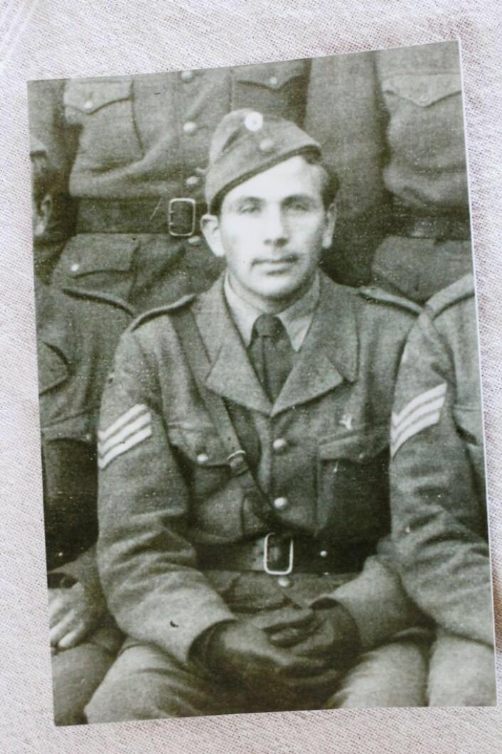 Harry Sønsterød var 19 år da krigen brøt ut. Foto: Privat