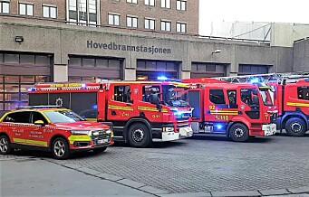 Oslo kommune står uten en ny sentrum brannstasjon fra 2022