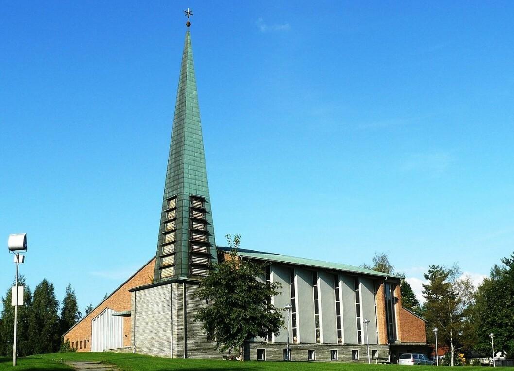 Denne uken besøker blogger Kjersti Opstad Tonsen kirke. Foto: Wikipedia