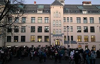 Foreldre ved Majorstuen skole frykter for barnas sikkerhet. Klager planene for Fonteneplassen inn for fylkesmannen